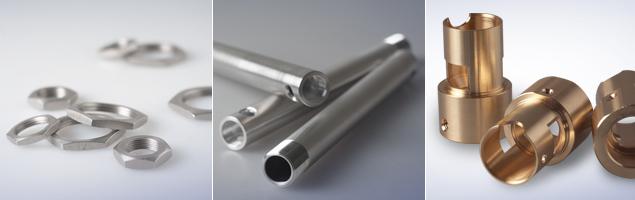 CNC Drehteile, Muttern, Gewindehülsen, Messingdrehteile