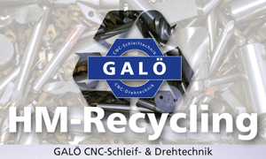 Hartmetall-Recycling bei GALÖ