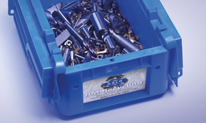 Transport-Box für Hartmetall-Schrott